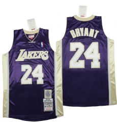 Men Los Angeles Lakers 24 Kobe Bryant Blue 1996 2016 The hall of fame Throwback Jerseys