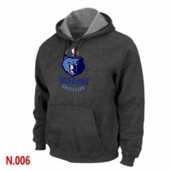 NBA Mens Memphis Grizzlies Pullover Hoodie Dark Grey