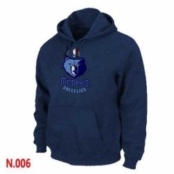 NBA Mens Memphis Grizzlies Pullover Hoodie Navy
