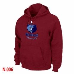 NBA Mens Memphis Grizzlies Pullover Hoodie Red