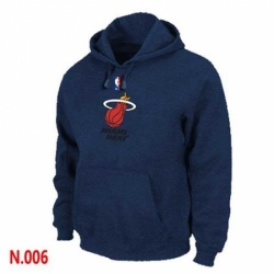NBA Mens Miami Heat Pullover Hoodie Navy