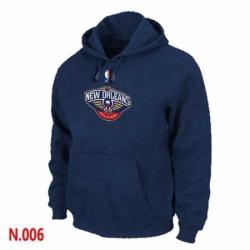 NBA Mens New Orleans Pelicans Pullover Hoodie Navy