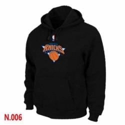 NBA Mens New York Knicks Pullover Hoodie Black