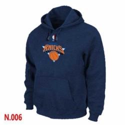 NBA Mens New York Knicks Pullover Hoodie Navy