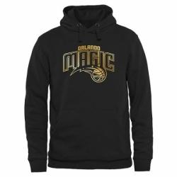 NBA Mens Orlando Magic Gold Collection Pullover Hoodie Black
