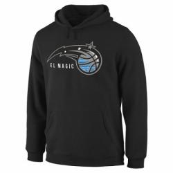 NBA Mens Orlando Magic Noches Enebea Pullover Hoodie Black