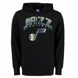 NBA Mens Utah Jazz UNK Ballout Pullover Hoodie Black