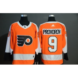 Flyers 9 Ivan Provorov Orange Adidas Jersey