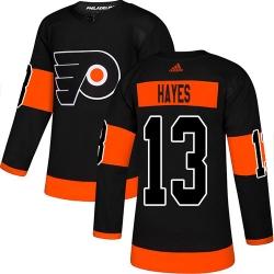 Men Adidas Philadelphia Flyers #13 Kevin Hayes Black Alternate Stitched NHL Jersey