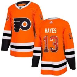 Men Philadelphia Flyers #13 Kevin Hayes Orange Home Drift Fashion NHL Jersey