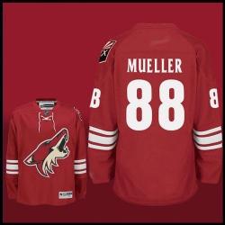 Phoenix Coyotes #88 MUELLER Red jerseys