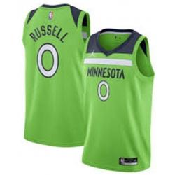 Men Jordan Brand Minnesota Timberwolves D'Angelo Russell Green Statement Jersey