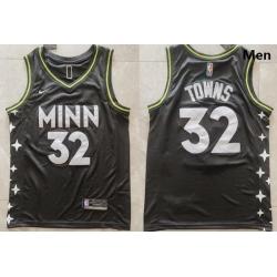 Men Minnesota Timberwolves Karl-Anthony Towns 32 2020-21 Edition  Swingman Jersey