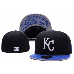Kansas City Royals Fitted Cap 001