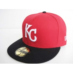 Kansas City Royals Fitted Cap 003