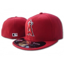 Los Angeles Angels Fitted Cap 002