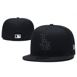 Los Angeles Dodgers Fitted Cap 001