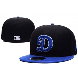 Los Angeles Dodgers Fitted Cap 004