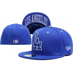 Los Angeles Dodgers Fitted Cap 009