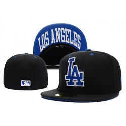 Los Angeles Dodgers Fitted Cap 012