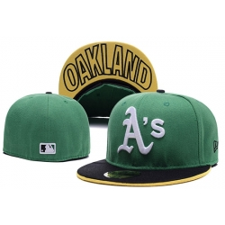 Oakland Athletics Fitted Cap 002