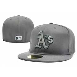Oakland Athletics Fitted Cap 004