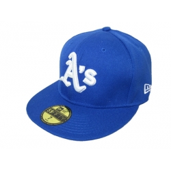 Oakland Athletics Fitted Cap 008