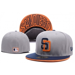 San Diego Padres Fitted Cap 002