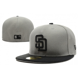 San Diego Padres Fitted Cap 005