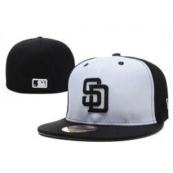 San Diego Padres Fitted Cap 008