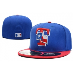 Texas Rangers Fitted Cap 001