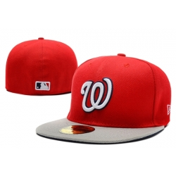 Washington Nationals Fitted Cap 002