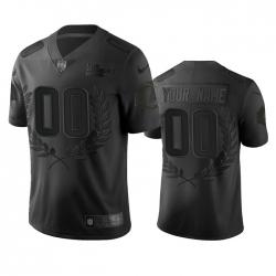Men Women Youth Toddler Los Angeles Rams Custom Men Nike Black NFL MVP Limited Edition Jersey