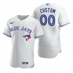 Men Women Youth Toddler All Size Toronto Blue Jays Custom Nike White 2020 Stitched MLB Flex Base Jersey