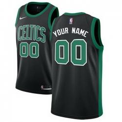 Men Women Youth Toddler All Size Nike Boston Celtics Customized Authentic Black NBA Statement Edition Jersey