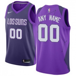 Men Women Youth Toddler All Size Phoenix Suns Nike Purple Swingman Custom City Edition Jersey