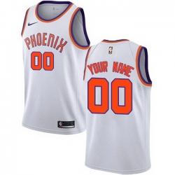 Men Women Youth Toddler All Size Phoenix Suns Swingman White Nike Customized Association Edition Jersey