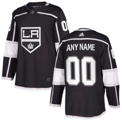 Men Women Youth Toddler Youth Black Jersey - Customized Adidas Los Angeles Kings Home