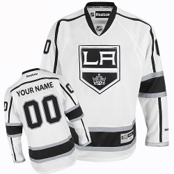 Men Women Youth Toddler Youth White Jersey - Customized Adidas Los Angeles Kings Away