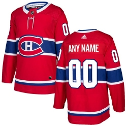 Men Women Youth Toddler Youth Red Jersey - Customized Adidas Montreal Canadiens Home