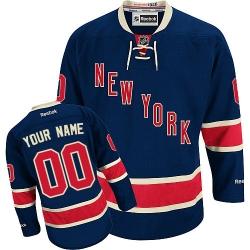 Men Women Youth Toddler Youth Navy Blue Jersey - Customized Reebok New York Rangers Third