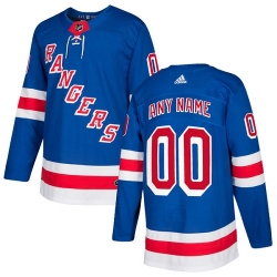 Men Women Youth Toddler Youth Royal Blue Jersey - Customized Adidas New York Rangers Home