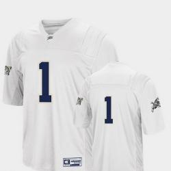 Men Navy Midshipmen 1 White College Football Colosseum Jersey