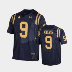 Men Navy Midshipmen Maasai Maynor College Football Navy Replica Jersey