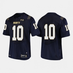 Men Navy Midshipmen Malcolm Perry College Football Navy Jersey