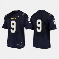 Men Navy Midshipmen Zach Abey College Football Navy Jersey