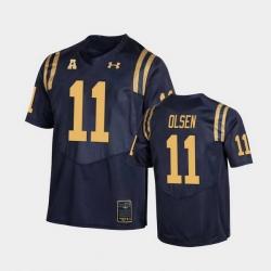 Men navy midshipmen perry olsen college football navy replica jersey