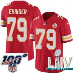2020 Super Bowl LIV Youth Nike Kansas City Chiefs #79 Parker Ehinger Red Team Color Vapor Untouchable Limited Player NFL Jersey