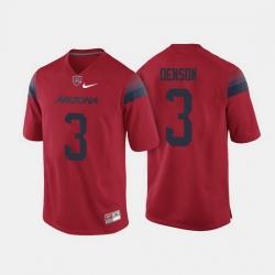 Arizona Wildcats Cam Denson College Football Red Jersey