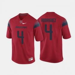 Arizona Wildcats Rhett Rodriguez College Football Red Jersey